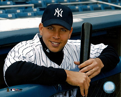 Alex Rodriguez New York Yankees Baseball Photo Print