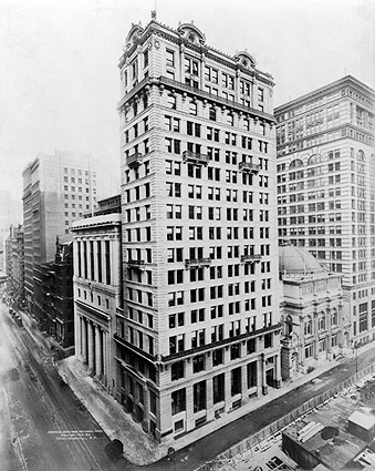 American Exchange National Bank NYC 1913 Photo Print
