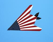 American Flag F-117 Stealth Fighter Photo Print for Sale
