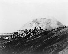 American Marines Land on Iwo Jima 1945 WWII Photo Print for Sale