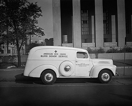 American Red Cross Ambulance Blood Donor Service 1942 Photo Print