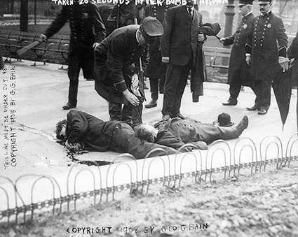 Anarchists Riots Union Square, NYC 1908 Photo Print
