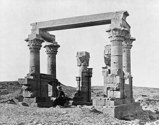 Ancient Egyptian Temple of Kartassi, Egypt Photo Print for Sale