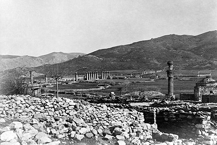 Ancient Greek Ruins of Ephesus Greece Photo Print