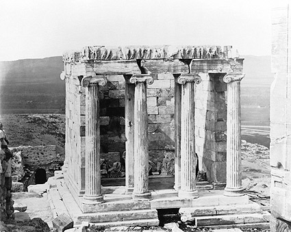 Ancient Greek Temple of Athena Acropolis Photo Print