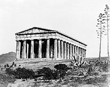 Ancient Greek Temple of Hephaestus Greece Photo Print for Sale