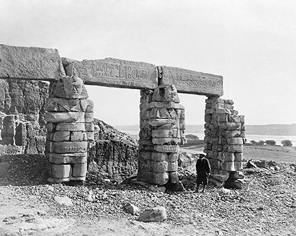 Ancient Temple of Gerf Hussein in Nubia, Egypt Photo Print