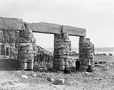Ancient Temple of Gerf Hussein in Nubia, Egypt Photo Print for Sale