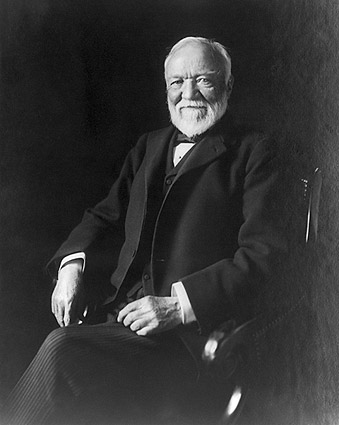 Andrew Carnegie Photo Seated Portrait 1913 Photo Print