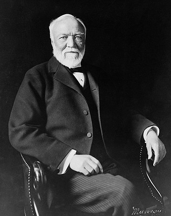 Andrew Carnegie Seated Portrait Photo Print