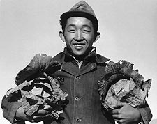 Ansel Adams WWII Manzanar Japanese Farmer Photo Print for Sale
