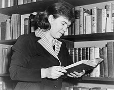 Anthropologist Dr. Margaret Mead Portrait Photo Print for Sale