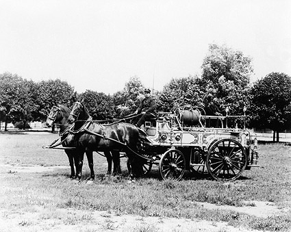 Antique Horse Drawn Fire Engine York, PA Photo Print