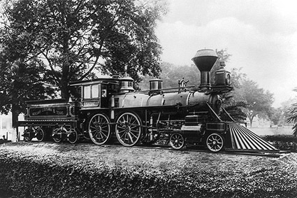 Antique Railroad Locomotive Train Sabine Photo Print