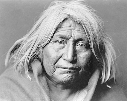 Apache Indian Edward S. Curtis Portrait Photo Print