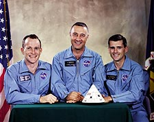 Apollo 1 Astronaut White, Grissom & Chaffee Photo Print for Sale