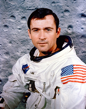 Apollo 10 Astronaut John Young Portrait Photo Print