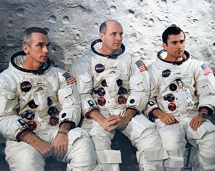 Apollo 10 Astronauts Prime Crew Portrait Photo Print