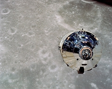 Apollo 10 Command Module Lunar Orbit NASA Photo Print