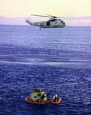 Apollo 10 Helicopter Recovery NASA Photo Print for Sale
