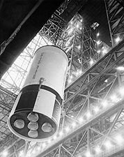 Apollo 10 Saturn V Rocket Assembly NASA Photo Print for Sale