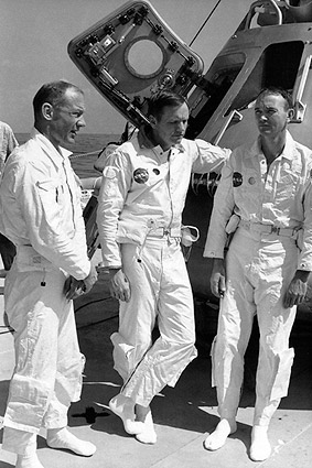 Apollo 11 Aldrin, Armstrong & Collins NASA Photo Print