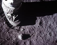 Apollo 11 Buzz Aldrin Boot on Moon Photo Print for Sale
