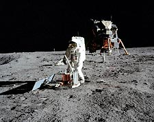 Apollo 11 Buzz Aldrin Seismic Experiment Photo Print for Sale
