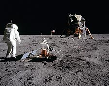 Apollo 11 Buzz Aldrin Tranquility Base Photo Print for Sale