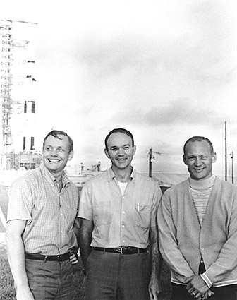 Apollo 11 Crew Armstrong, Collins & Aldrin Photo Print