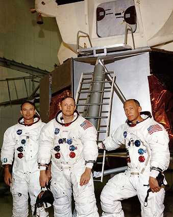 Apollo 11 Crew Training Portrait Photo Print
