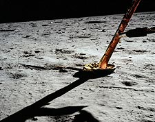 Apollo 11 Lunar Lander Strut Moon Surface Photo Print for Sale