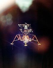 Apollo 11 Lunar Module Descent to Moon NASA Photo Print for Sale