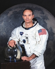 Apollo 11 Michael Collins Portrait Photo Print