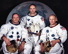 Apollo 11 Moon Landing Astronaut Crew Photo Print for Sale