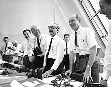 Apollo 11 Moon Mission Control Staff Photo Print for Sale