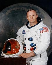 Apollo 11 Neil Armstrong Portrait Photo Print for Sale