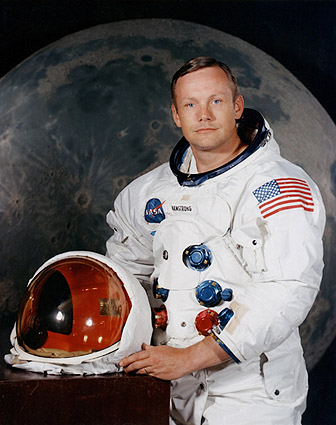 Apollo 11 Neil Armstrong Portrait Photo Print