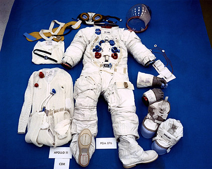 Apollo 11 Neil Armstrong Space Suit Photo Print