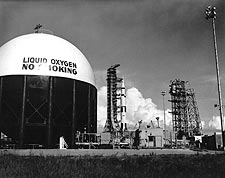 Apollo 11 Saturn V Mobile Service Structure Photo Print for Sale
