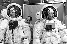 Apollo 11Armstrong Aldrin Training Photo Print for Sale