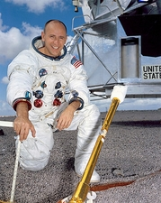Apollo 12 Astronaut Alan Bean Portrait Photo Print