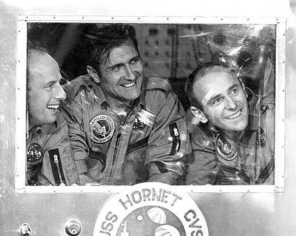 Apollo 12 Astronauts Conrad, Gordon & Bean Photo Print