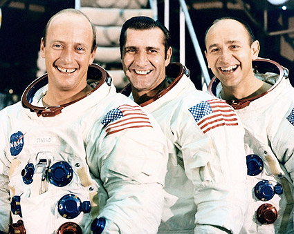 Apollo 12 Crew Posing Photo Print