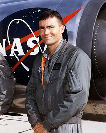 Apollo 13 Astronaut Fred Haise Portrait NASA Photo Print