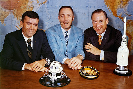 Apollo 13 Astronauts Lovell Swigert Haise Photo Print