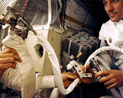 Apollo 13 John Swigert Showing 'Mailbox' Photo Print