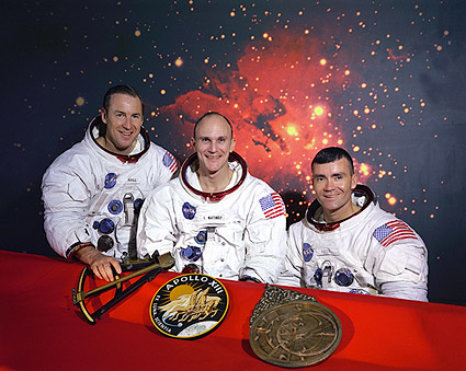 Apollo 13 Original Crew Group Portrait Photo Print
