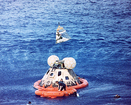 Apollo 13 Recovery Astronaut John Swigert Photo Print