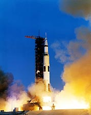 Apollo 13 Saturn V Moon Rocket Launch NASA Photo Print for Sale